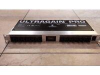 BEHRINGER ULTRAGAIN PRO MODEL PREAMPLIFIER MODEL MIC2200