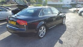 AUDI A4 S LINE TDI 140 6 SPEED GEARBOX 12 M MOT AND 3 M NATIOWIDE WARRANTY TOP CONDITION PERFECT CAR