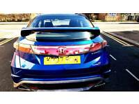 Honda Civic 2007 Type S GT low mileage 98k SatNav Panaromic glass roof
