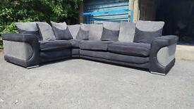 CORNER BLACK & GREY FAB CONDITION