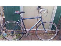 """Dawes Street Sharp Classic Hand Built Hybrid Bike 21"""" Frame"""