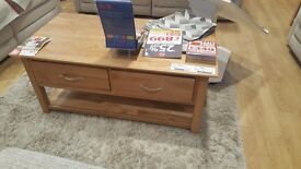 Coffee table brand new boxed