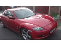 Mazda rx8 231 ps no hot start issues plus some service parts