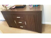 Living room furniture for sale - tv unit, side table and coffee table for £150 in total