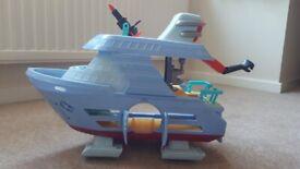 Disney Pixar Incredibles 2 Hydroliner Toy Playset