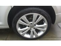"""Golf Eos/Caddy 18"""" Wheel and Tyre"""