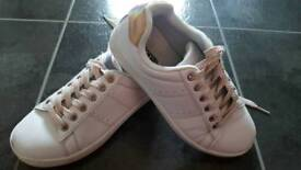 Girls size 1 trainers.