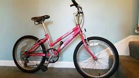 Girls Raleigh 20 bike. Shimano gears.