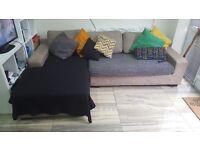 Used L shaped sofa
