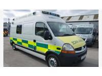 2010 Renault Master HDU Ambulance