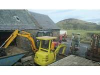 Mini diggers wanted running or not. Tractor dumper etc