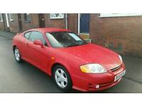 04 hyundai coupe s 1.6 petrol low mileage!!!!