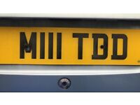Private plate for sale M111 TDD