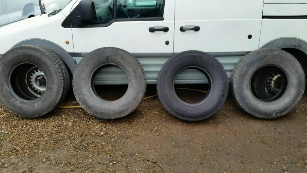 General grabber tyres 235/65/16 not all terrain