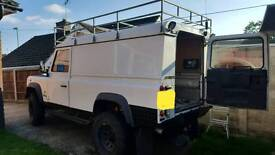 defender 110 full roof rack expedition