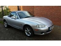 MAZDA MX-5 1.8I CONVERTIBLE 51 PLATE LONG MOT IN EXCELLENT CONDITION DRIVES GREAT HPI CLEAR £1190
