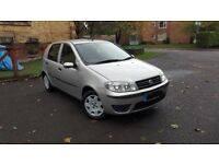 FIAT PUNTO, FULLY AUTOMATIC, ULTRA LOW MILEAGE, 7 MONTHS CLEAN MOT, 5 DOORS, KEYFOB, NEW TYRES