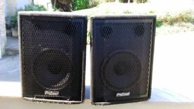 Prosound PS 120 speakers Full Range DJ/ PA SPEAKERS