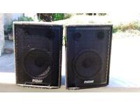 Prosound PS 120 speakers Full Range DJ/ PA SPEAKERS