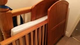 Cosatto cot bed