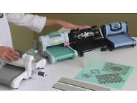 Sizzix Big Shot in pink and black Cutting and embossing machine