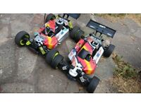 RC CAR/ x2 1/8 GV Rex X NITRO buggy