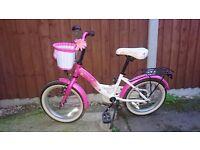 Bike, pink ,girl 3 and up