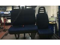 Iveco 2005 van seats, double and drivers £75