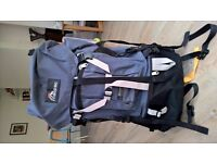 MacPac Glissade 75l Rucksack - limited use, excellent condition