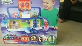 PJ mask Headquarters Play set only