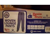 Mens lounge pants XL 42/44
