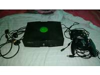 Classic Xbox with 17 games