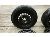 Vw Golf 5 stud steel wheel rim Volkswagen