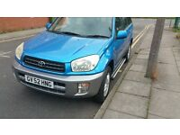 IMMACULATE RAV4 03 plate 2.0 VVTI 5door,NEW CAMBELT,FULL SERVICE HISTORY,CHEAP OFFER!!
