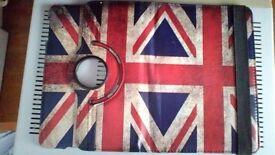Apple iPad mini british flag case cover