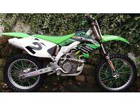 Kawasaki kxf 450 4 stroke motocross