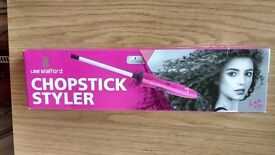 Lee Stafford. Chopstick Styler. New!! It is a present, I never used it. Half price 10 pounds
