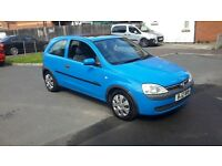 2001 Vauxhall Corsa C wth just 36000 miles. Fully stamped VSH. Fiesta polo clio getz 306 307 i10 i20