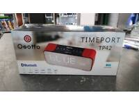 Osotto timeport tp42 red speaker