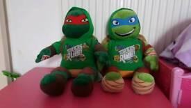 2 build a bear ninja turtles with sounds