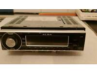 Alba flip down cd player ,