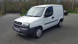 2004 54 fiat doblo cargo 1.3 jtd Multijet .✅ low owners . ✅ great small van combo connect astra