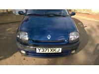 2001 Renault Clio 1.4
