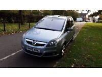 2005 Vauxhall Zafira 1.9 CDTi Design 5dr HPI Clear Full Service History @07725982426@