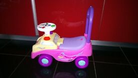 My First Ride On / Push Along Pink Car