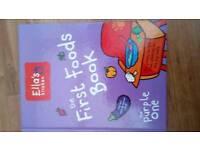 Ella's kitchen first food book