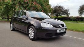VOLKSWAGEN GOLF MATCH 1.6 FSI 57 PLATE 2007 1F/KEEPER 96000 MILES VOSA HISTORY AIRCON ALLOY 6SPEED