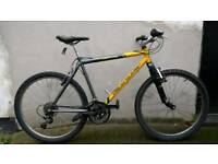 "Men's Claud Butler 20"" frame front suspension mountain bike"