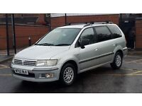 Mitsubishi Space Wagon automatic, seven-seater long MOT