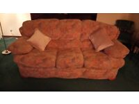 3 Seater Sofa and 2 Chairs. Excellent condition from smoke and pet free home. £200 o.n.o